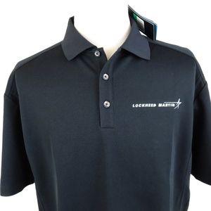 NEW Nike Golf Dri Fit XL Classic Polo Shirt Black